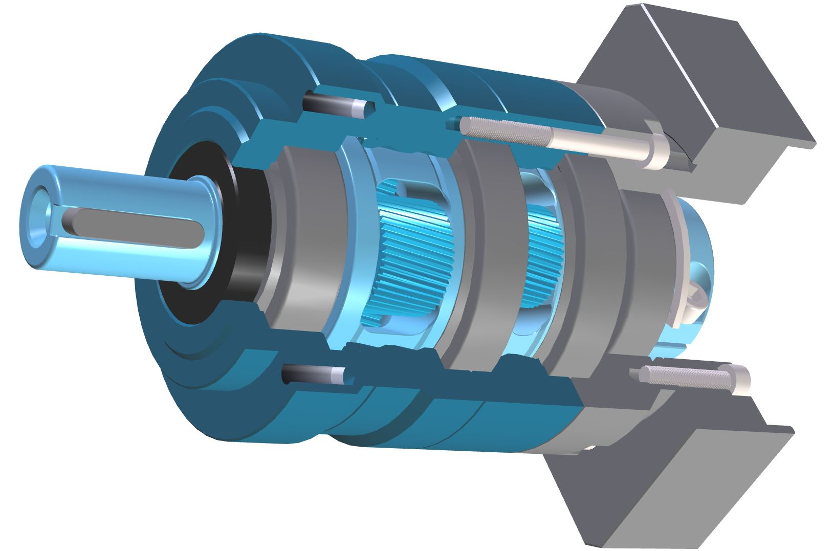 Lively - Helical planetary gearbox